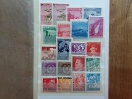 JUGOSLAVIA - 20 Francobolli Anni '45/'49 Nuovi ** + Spese Postali - 1945-1992 Repubblica Socialista Federale Di Jugoslavia