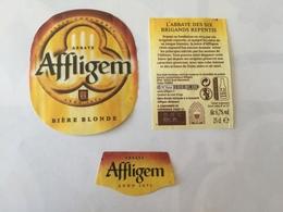 Ancienne étiquette B8 BIERE BELGE - AFFLIGEM - BIERE BLONDE - Bière