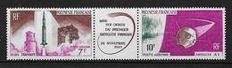 POLYNÉSIE 1966 . Poste Aérienne . Triptyque N° 18A . Neuf ** (MNH) . - Unused Stamps