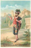 CHOCOLAT LOUIT- Théâtre  ; Lot De 3 Chromos (format 10,5cm X 7cm) - Louit