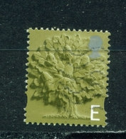 ENGLAND  -  2001 To 2003  Oak Tree  'E'  Used As Scan - Regional Issues