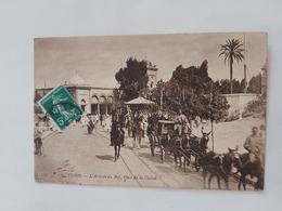 Tunis (l'Arrivée Du Bay Place De La Casbah) Le 1908 1910 Tunisie - Tunisia