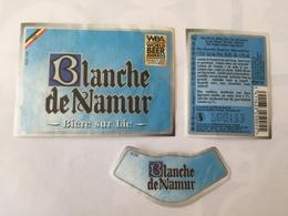 Ancienne étiquette B8 BIERE BELGE - BLANCHE DE NAMUR - Bière