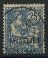 Crete (1903) N 16 (o) - Oblitérés
