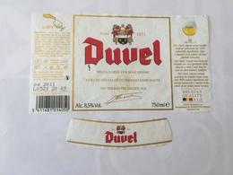 Ancienne étiquette B8 BIERE BELGE - DUVEL - Bière