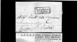 CG30 - Lettera Da Intra 21/6/1813 - Italie