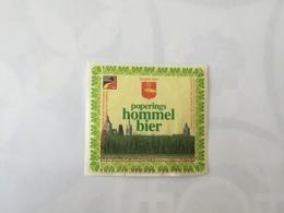 Ancienne étiquette B8 BIERE BELGE - HOMMEL BIER - POPERINGS - Bière