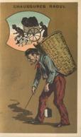 CHAUSSURES RAOUL - Série Sur Les Métiers ; Lot De 6 Chromos (format 10,5cm X 6,4cm) - Autres