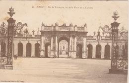CPA - Nancy (54) Meurthe Et Moselle - Arc De Triomphe, Vu De La Place De La Carrière - Nancy
