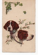 ANIMAUX - CHIEN * DOG * CHIENS DE CHASSE * OLIVIER * TREFLE * - Dogs