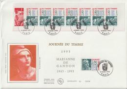 France FDC Grand Format 1995 Journée Du Timbre BC2935 - 1990-1999