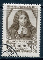 USSR 1958 2174 (2264) 350 YEARS SINCE THE BIRTH OF ENGLISH POET JOHN MILTON - 1923-1991 USSR