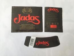 Ancienne étiquette B9 BIERE BELGE - JUDAS- BIERE BLONDE - Bière
