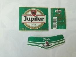 Ancienne étiquette B9 BIERE BELGE - JUPILER - SANS ALCOOL - Bière