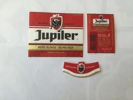 Ancienne étiquette B9 BIERE BELGE - JUPILER - BIERE BLONDE - Bière