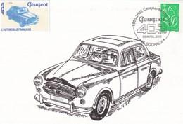Cinquante Ans De La PEUGEOT  403 - Turismo