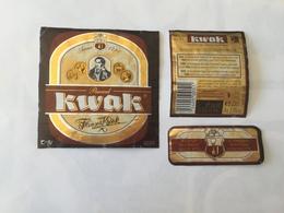 Ancienne étiquette B9 BIERE BELGE - KWAK - Bière