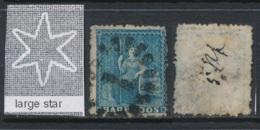 BARBADOS, 1870 1d Wmk Large Star (rough P 14 To 16) Used, SG44, Cat GBP70 - Barbados (...-1966)