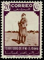 Ifni 020 * Tirador. 1943 Charnela - Ifni