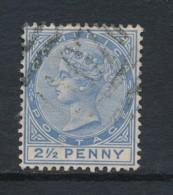 DOMINICA, 1886 2.5d Blue Used - Dominique (...-1978)