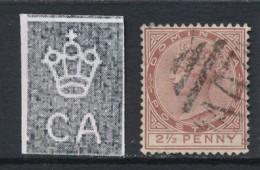 DOMINICA, 1883 2.5d Brown Wmk Crown CA Used - Dominique (...-1978)