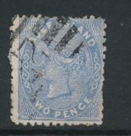QUEENSLAND, 1879 2d Die II Bright Blue Used, SG139d, Cat GBP6 - 1860-1909 Queensland