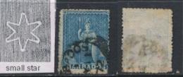 BARBADOS, 1871 1d Wmk Small Star (rough P 14 To 16) Used, SG48, Cat GBP4 - Barbados (...-1966)