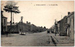 08 DOM-le-MENIL - La Grande Rue - Autres Communes