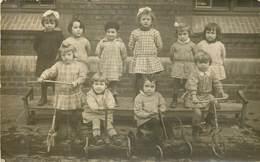 AMIENS  Course De Trottinettes A L'école Maternelle 13.12.1930 - Carte Photo - - Amiens