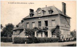 27 SAINT-AUBIN-de-SCELLON - La Mairie - France