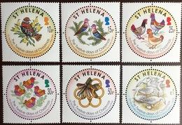 St Helena 2006 12 Days Of Christmas Birds MNH - Sint-Helena
