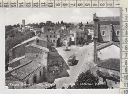 FORANO SABINO RIETI PIAZZA V. EMANUELE BUS PULLMAN - Rieti