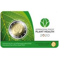 Belgie 2020  2 Euro Commemo CC  Internationaal Jaar Van De Plantengezondheid   Nederlandstalige Versie  !! Leverbaar !!! - Bélgica