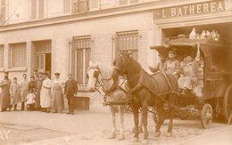 CARTE-PHOTO De LEVALLOIS-PERRET - Epicerie BATHEREAU. - Levallois Perret