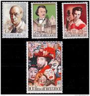 Belgium 1708/11**  Culturelle  MNH - Belgique