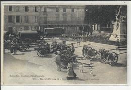 Saint Dizier Passage Du 19e Régiment D'artillerie (carte Decollée) - Saint Dizier