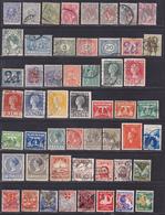 PAYS-BAS, NEDERLAND LOT TIMBRES °/Used, Oblitérés, Etats Divers, (Lot 1386) - Collections