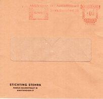 15 XII 64   Roodfrankering 00-stand Amsterdam Op Venster-envelop Met Firmalogo - Postal History