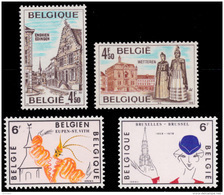 Belgium 1907/10** Tourisme  MNH - Belgium