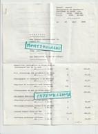 Vieux  Papier : Calvados :  VIRE , Maçonnerie - Ohne Zuordnung