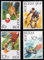 Belgium 2039/42** Sports  MNH - Belgique
