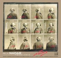 France 2020 Bloc  Félix Nadar 1820 - 1910   4V MNH / Neuf** - Blocs & Feuillets