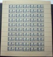 FRANCE 1945 Feuille Complète N° 746 Neuf** - MNH - Feuilles Complètes