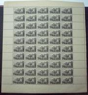 FRANCE 1945 Feuille Complète N° 747 Neuf** - MNH - Feuilles Complètes