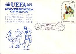 UEFA UNIVERSITY CRAIOVA 1983  COVER   (APRI200117) - UEFA European Championship