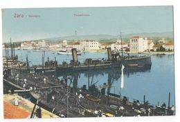 Cartolina-Postcard, Viaggiata (sent) - Zara, Barcagno, Torpediniere - Croatia