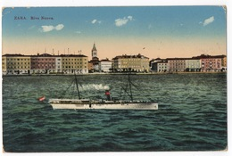 Cartolina-Postcard, Viaggiata (sent) - Zara, Riva Nuova - Croazia
