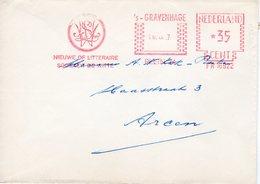 16 IX 67  Roodfrankering  's-Gravenhage Op Envelop Naar Arcen (Wiegel) - Postal History