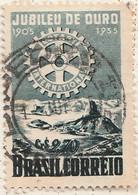 PIA - BRASILE - 1955 : Centenario Del Rotary Internazionale  -    (Yv 600) - Brasile