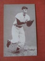 Blank Back Arcade Card-----  Baseball  Gus Zernial     Ref 3972 - Baseball